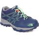 The North Face Junior Hedgehog Hiker WP Shoes Marker Blue/Electric Mint Green